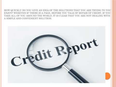 Improve credit score currently