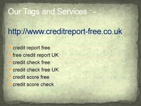 credit report free @ creditreport-free.co.uk