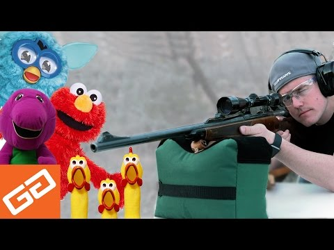 Tannerite Vs. World's Most Annoying Toys