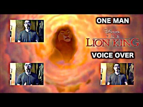 """One Man Lion King"" Voice Over - Disney"