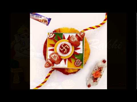 Send Nice Rakhi Pooja Thali Through The Internet Anywhere in India
