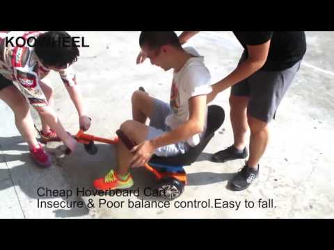Koowheel high quality Hoverseat /hover Cart compare with cheap hoverboard cart