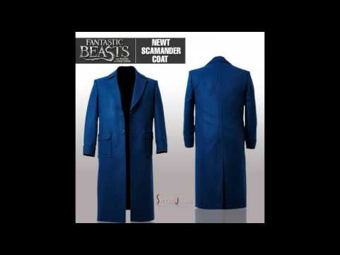 Newt Scamander Fantastic Beasts Blue Coat