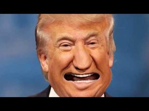 Funny Trump Face