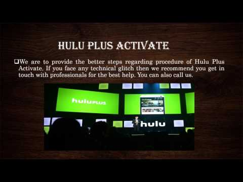 Hulu Com Activate Toll Free 1844 305 0086