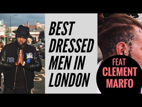 Men's Fashion London   Best Dressed Men in London feat Clement Marfo
