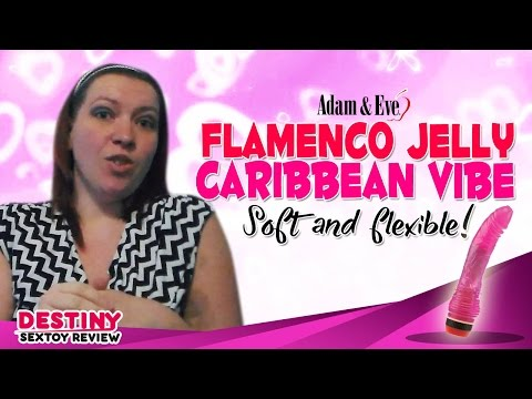 Flamenco Jelly Caribbean Vibe - A Realistic G-Spot Vibrator for Women