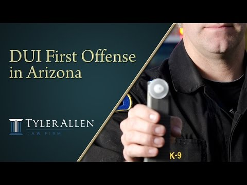 DUI First Offense in Arizona
