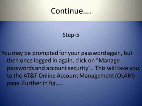 How To Reset your SBCGlobal.net password