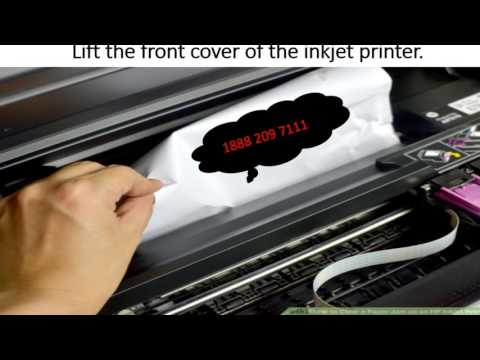 How to Clear a Paper Jam on an HP Inkjet Printer?