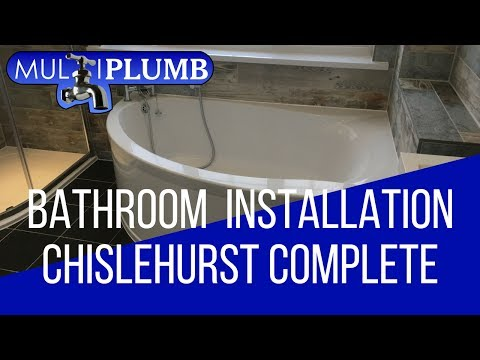 Chislehurst Bathroom Installation Complete | Bathroom Installation Chislehurst South East London