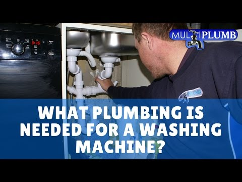 Washing Machines What Plumbing Is Needed For A Washing Machine