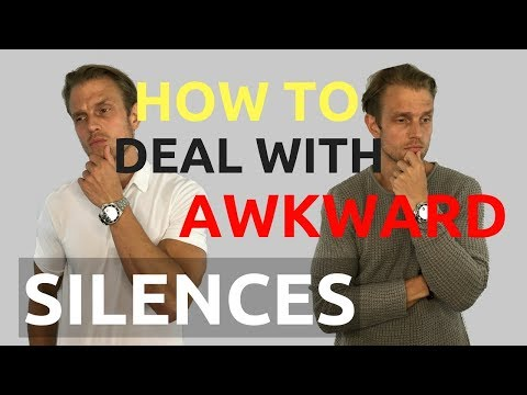 How To Deal With Awkward Silences | How To Keep A Conversation Going | Conversation Tips