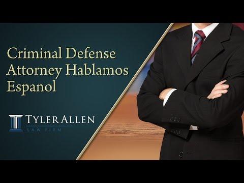 Criminal Defense Attorney Hablamos Espanol