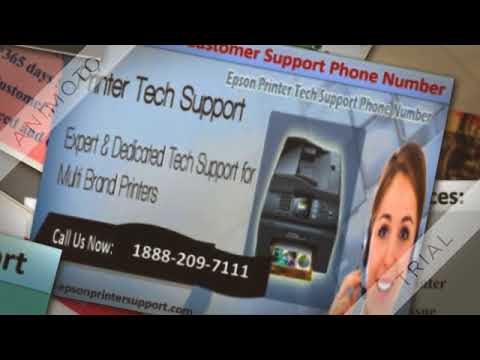Epson Printer Tech Support Number 1888 209 7111