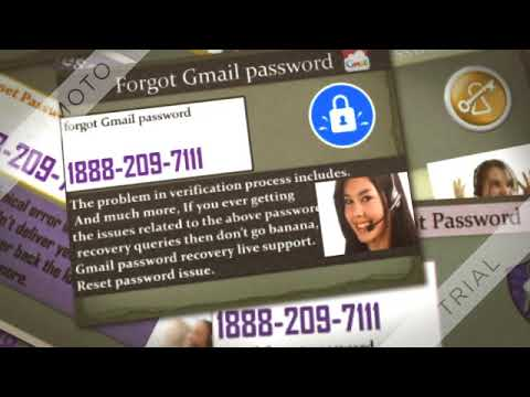 Gmail password recovery number 1888 209 7111