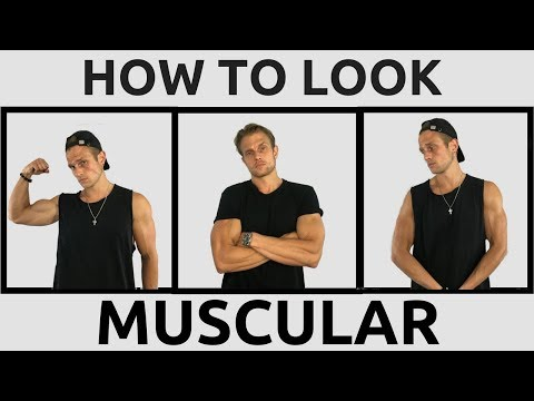 How To Look More Muscular In Your Clothes | 5 Style Tips To Dress More Muscular | Look Muscular