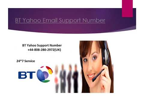 BT Yahoo Support When You Need It 24*7