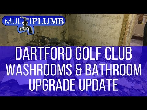 Dartford Golf Club Washrooms Bathrooms Upgrade Update | Commercial Washrooms & Bathroom Installation