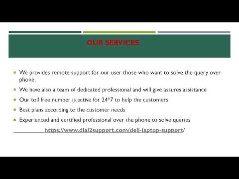 Dial Dell Support Number +1-888-989-8478 For Online Help