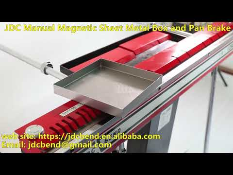 The Magnetic Bending Machine or Magnetic Pan Brake