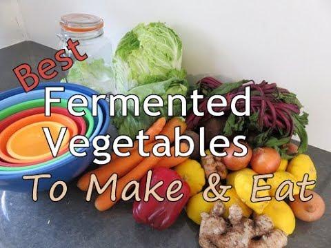 Best Fermented Vegetables To Make & Eat