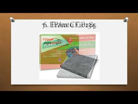 Top 9 Best Cabin Air Filters