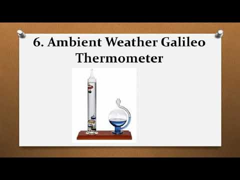 Top 8 Best Galileo Thermometers