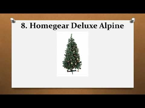 Top 10 Best Artificial Christmas Trees Reviews