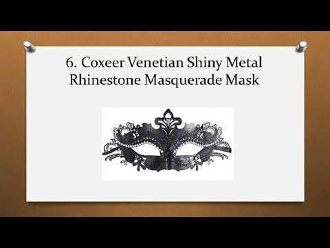 Top 7 Best Masquerade Masks for Women Reviews