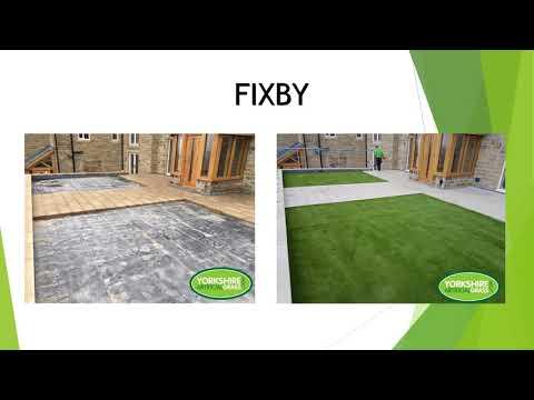 Before & After   Yorkshire Artificial Grass Ltd