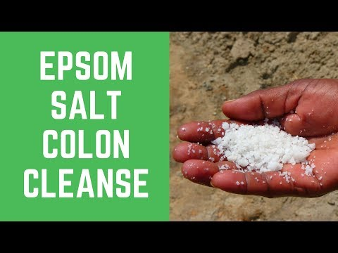Are you looking for working Epsom Salt Colon Cleanse?