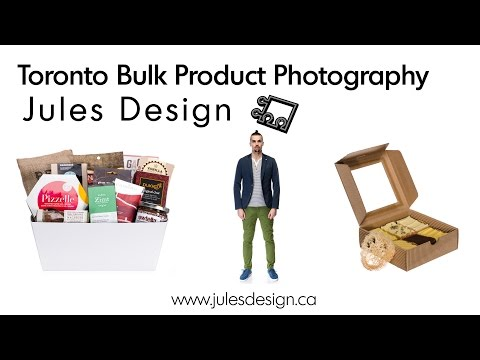 Toronto Bulk Product Photography - From $5 per image; Min Order $400