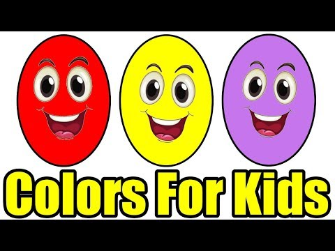 Learn Colors for Kids Children Toddlers Finger Family Nursery Rhymes Learning Video