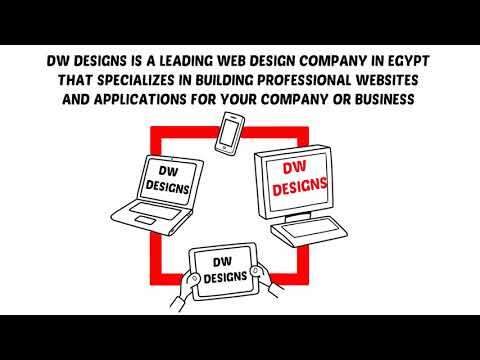 DW Designs: A Web Design Company in Egypt