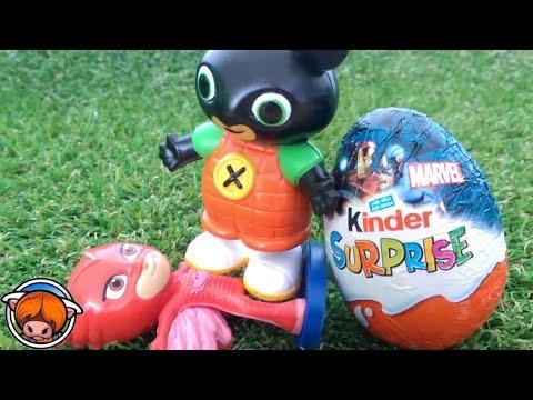 Bing bunny : Bing | Bing Bunny cbeebies | Bing episodes full bing cbeebies Kinder Surprise Eggs !
