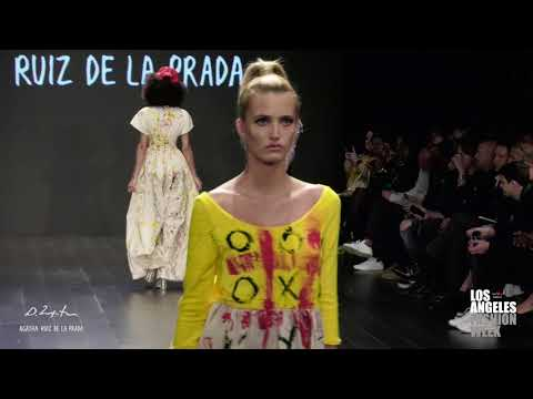 Domingo Zapata & Agatha Ruiz De La Prada at Los Angeles Fashion Week powered by Art Hearts Fashion