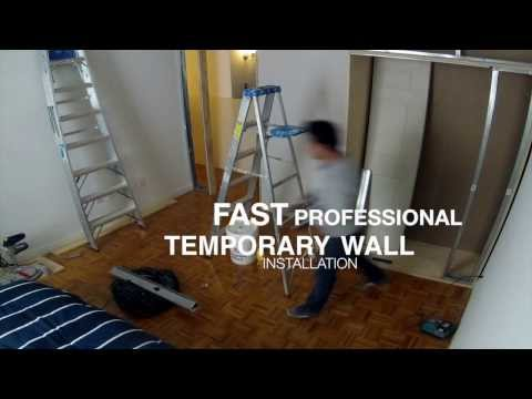 Temporary Wall Company NYC | Temporary Walls NYC