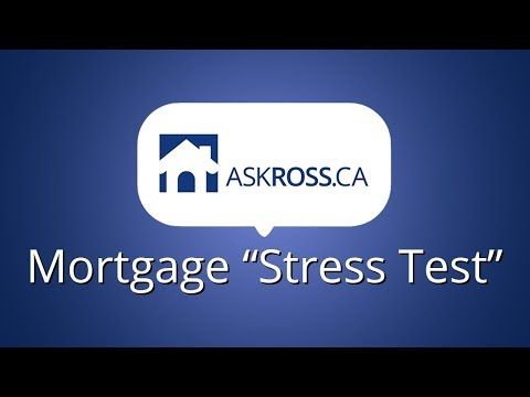 """The Mortgage """"Stress Test""""?"""