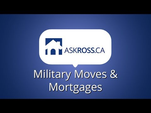 Military Moves and Mortgages
