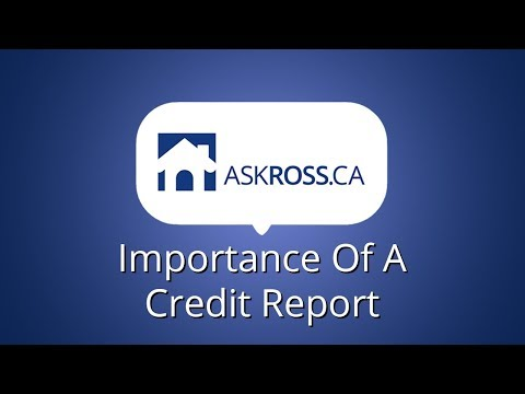 Importance of a Credit Report
