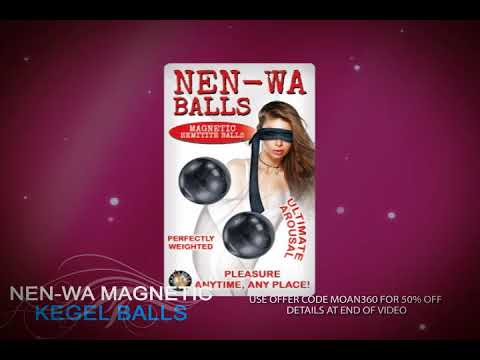 Nen-Wa Magnetic Kegel Balls | The Best Kegel Exercise Balls