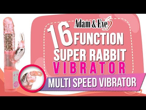 16 Function Super Rabbit Vibrator | Multi-Speed Rotating Rabbit Sex Toy