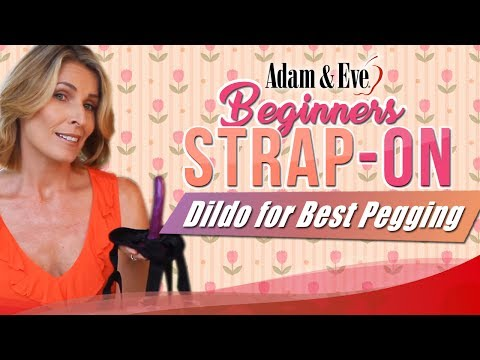 Beginners Strap-On Dildo for Best Couple Pegging Sex
