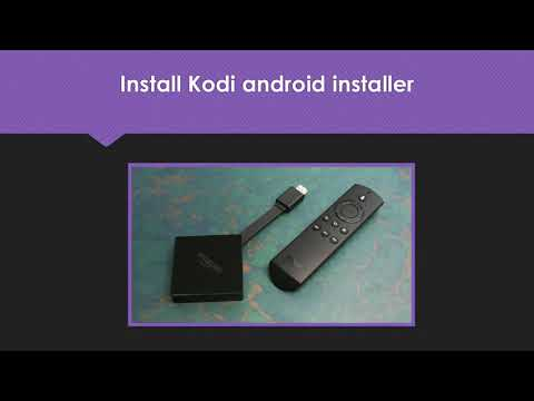 Install Kodi 17 6 Update On Fire Device