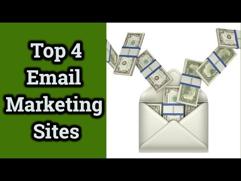 Top 4 Email Marketing Sites