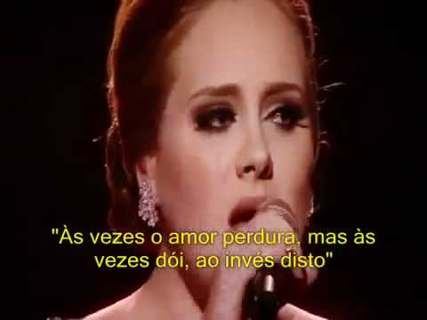 Adele - Someone Like You (Legendado) Tema de Griselda e René - Novela Fina Estampa