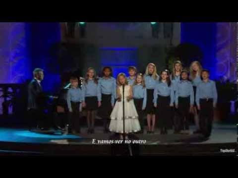Jackie Evancho - To Believe - legendado BR - HD