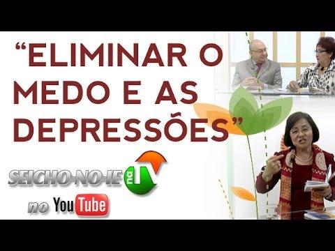"""30/11/2013 - SEICHO-NO-IE NA TV - """"Imaginar"""" é """"criar""""/Eliminar o medo e as depressões"""