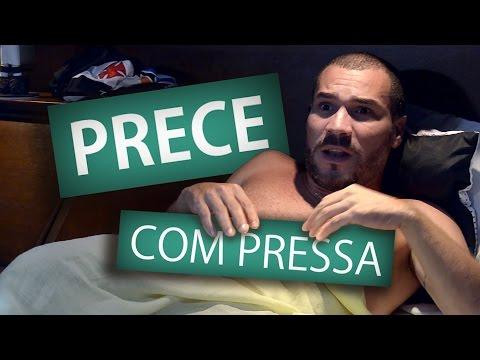 PRECE COM PRESSA - Humor Espírita !